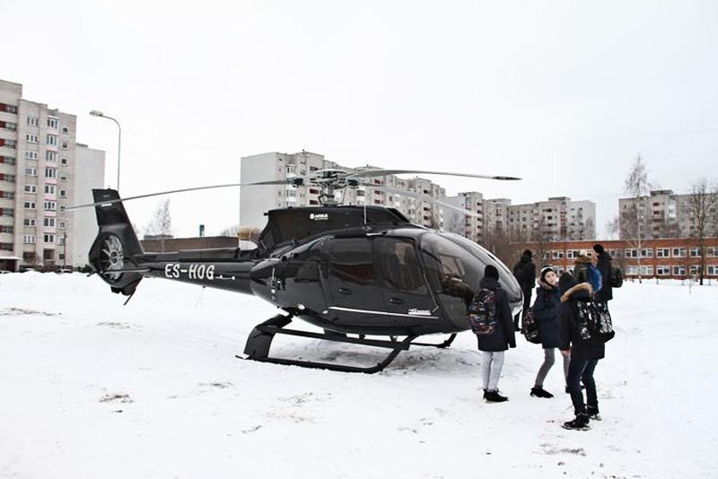 Сависаар прилетел в Нарву вместе с Олегом Гроссем