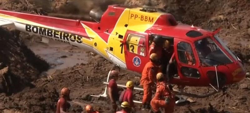 В результате прорыва дамбы в Бразилии погибли 110 человек, еще 238 пропали без вести (ВИДЕО)