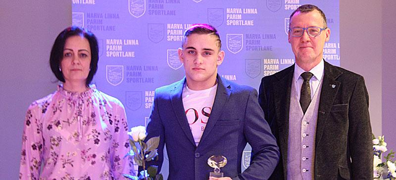 В Нарве наградили  лучших спортсменов