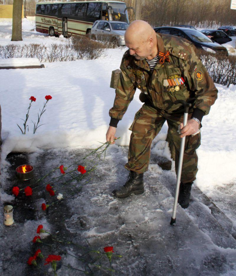 Ветераны-афганцы отметили 30-летие окончания той войны