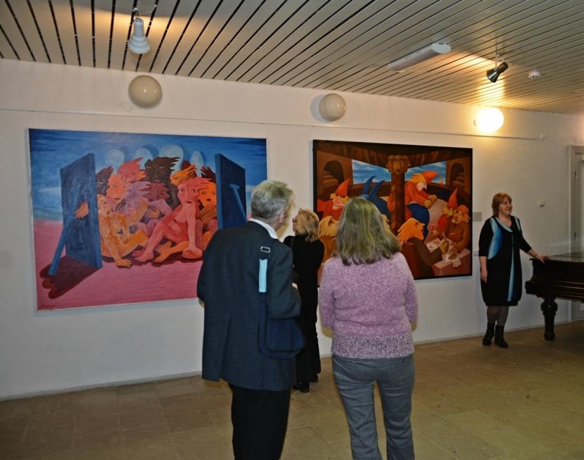 + Галерея. Нарвская галерея знакомит с творчеством знаменитых эстонских художников