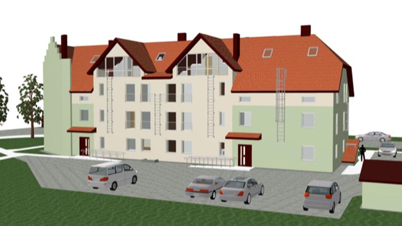 В Нарве началось строительство жилого дома «с нуля»
