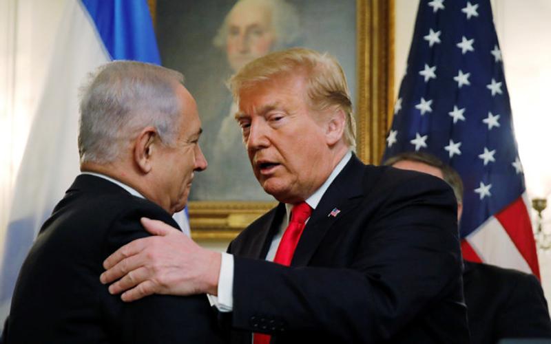 США официально признали суверенитет Израиля над Голанскими высотами