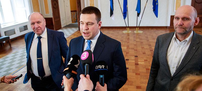 Центристская партия, Isamaa и EKRE опубликовали текст коалиционного договора