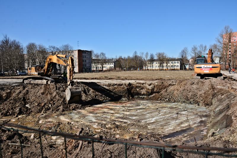 Строительство Нарвского колледжа  Академии внутренней безопасности началось