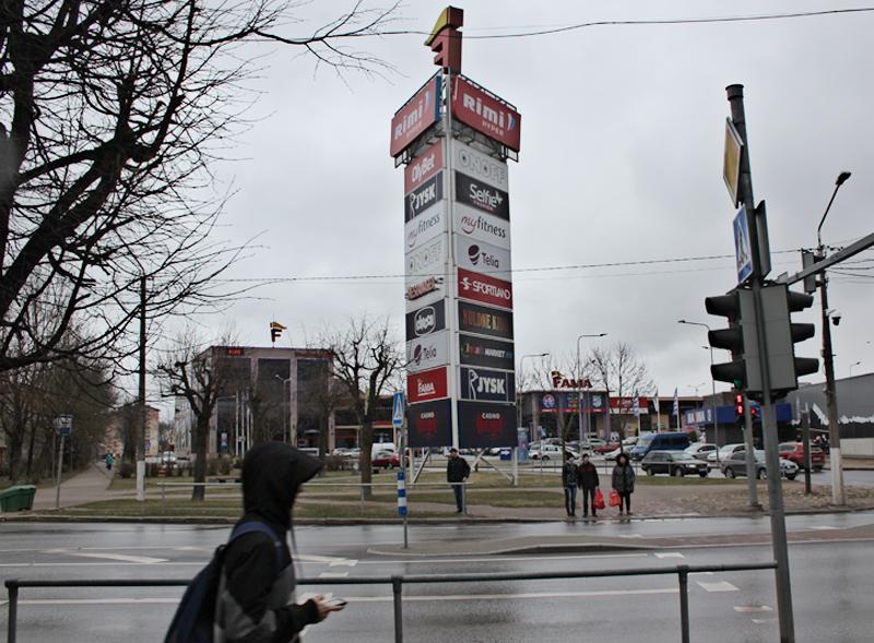 Наружная реклама в Нарве: разместить будет проще, но дороже