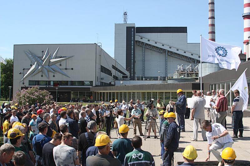 Энергетики в шоке: в перспективе - закрытие семи блоков Нарвских электростанций и минимальная зарплата
