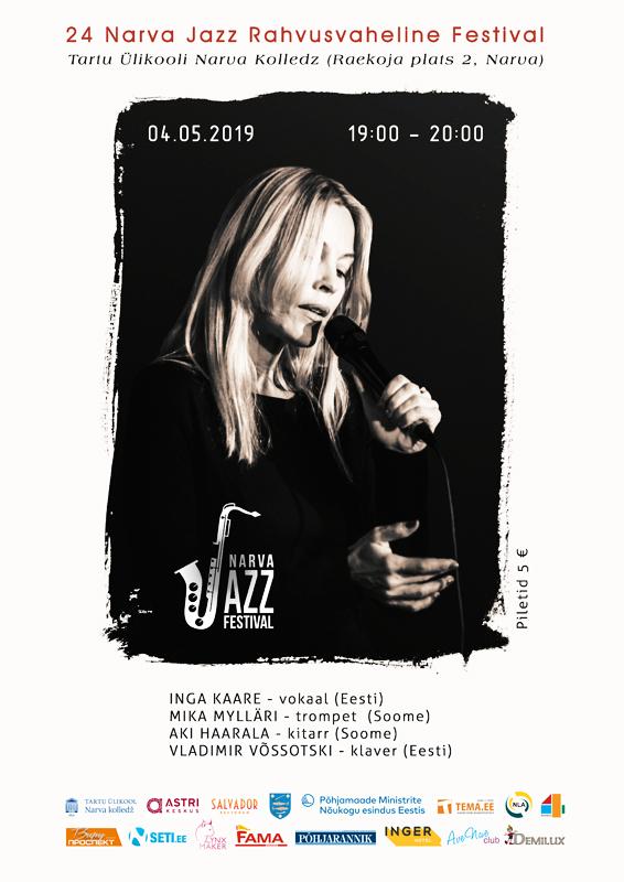 Вечерний концерт Narva Jazz (4 мая 19:00 - 20:00  Нарвский колледж ТУ)