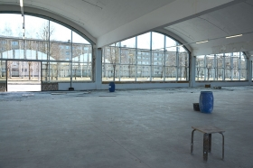 Уникальное производственное здание можно будет увидеть не только снаружи, но и внутри