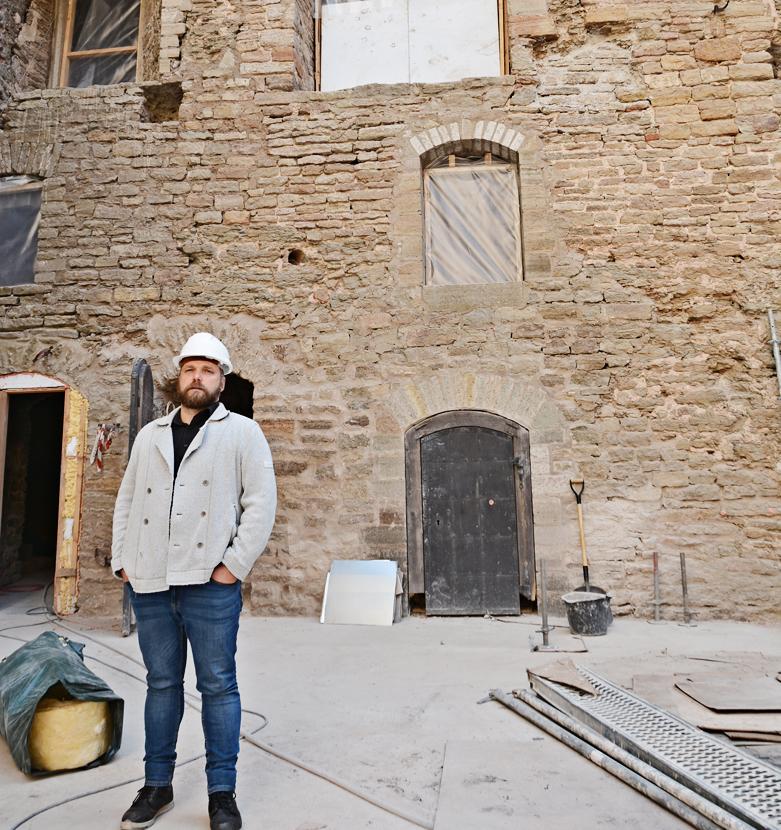 Реновация Нарвского замка: в июле уже увидим галерею Восточного флигеля и новую экспозицию