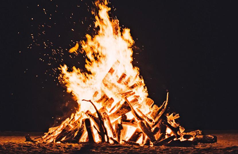 ОПРОС. Соблюдаете ли вы при разведении костров правила пожарной безопасности?