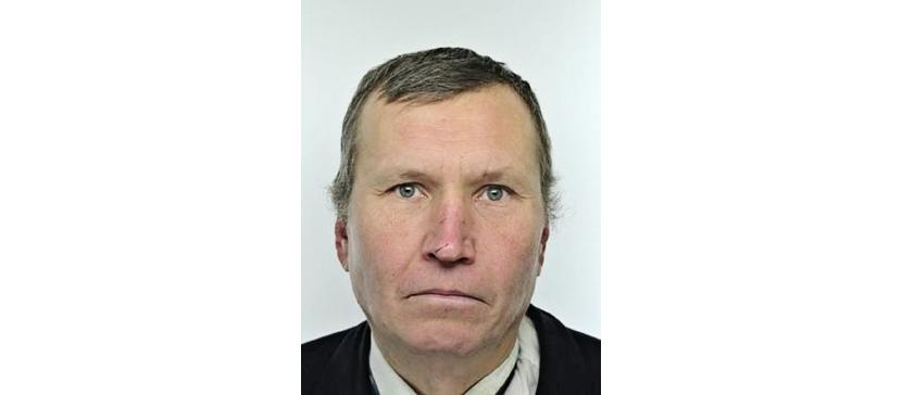 Полиция просит помощи в установлении местонахождения 54-летнего Юри