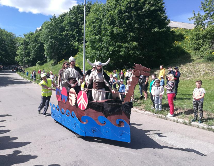 +Галерея. «Гонки на мыльницах»: накситралли и викинги на Липовой ямке