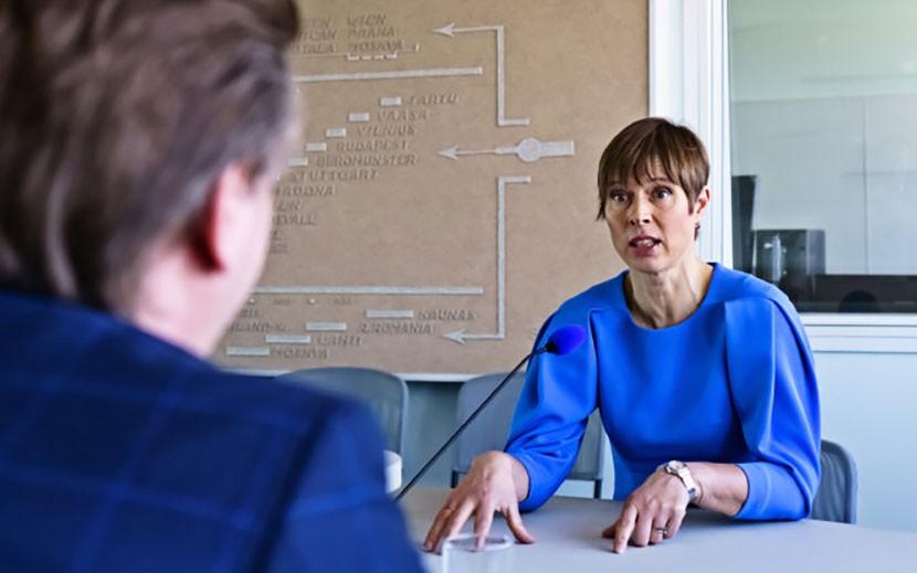 Керсти Кальюлайд видит новый подъем уверенности Нарвы в себе как эстонского города