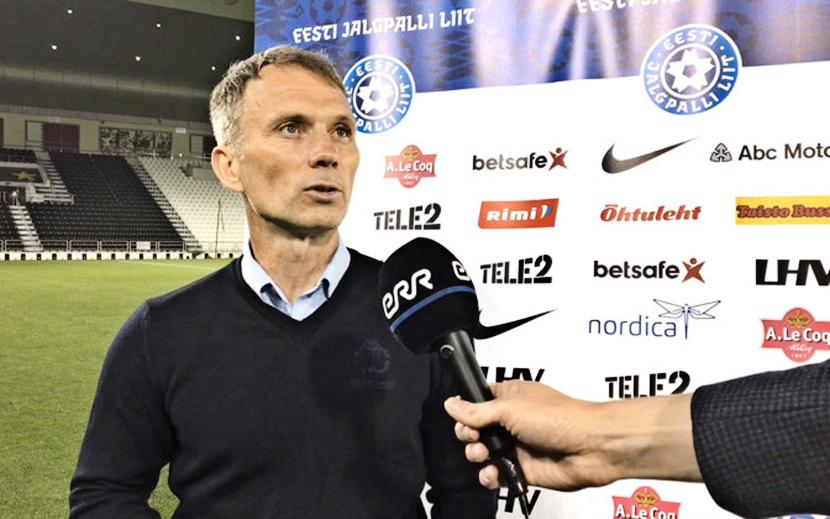 Главный тренер сборной Эстонии Мартин Рейм подал в отставку