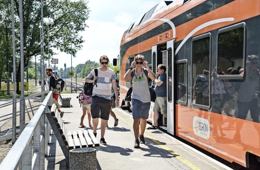 27 и 28 июня поезда на Нарву будут следовать по измененному расписанию