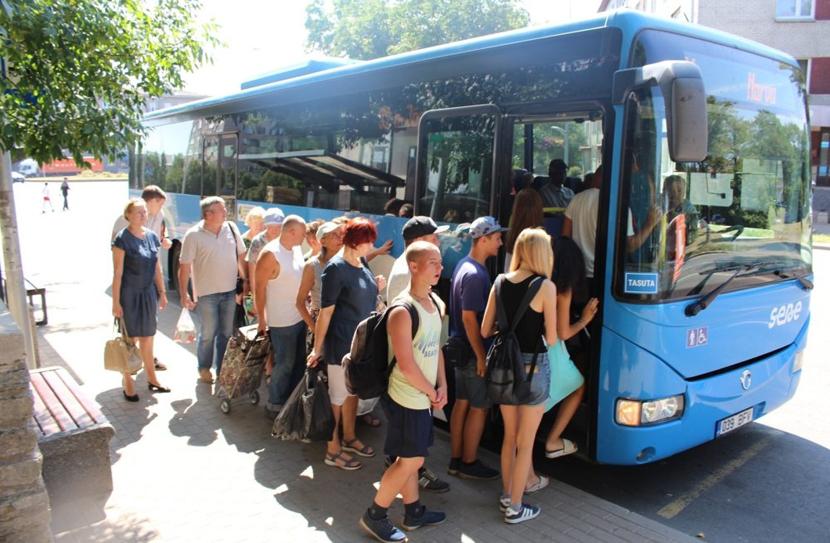 Проблема нарвских дачников: бесплатные уездные автобусы перестали останавливаться у дач