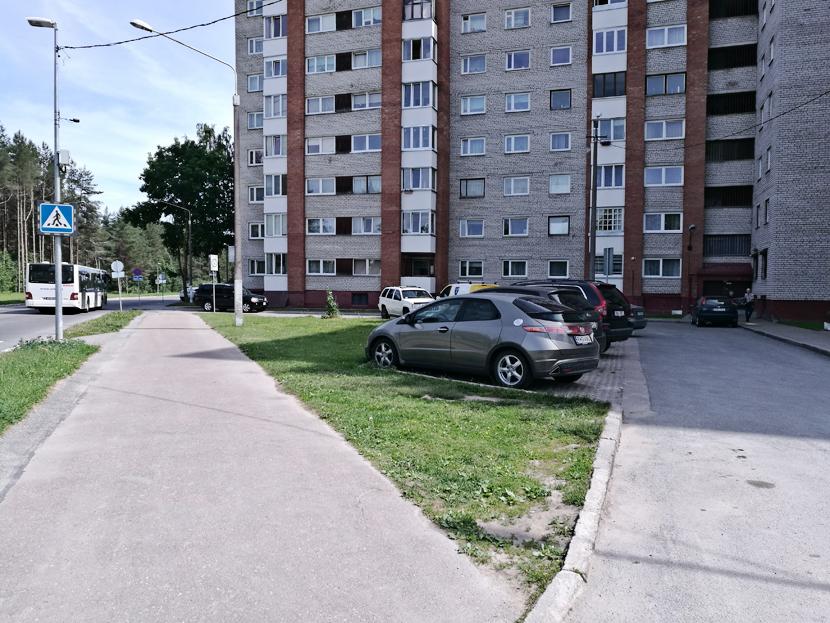 Расширить парковку или сохранить газон?