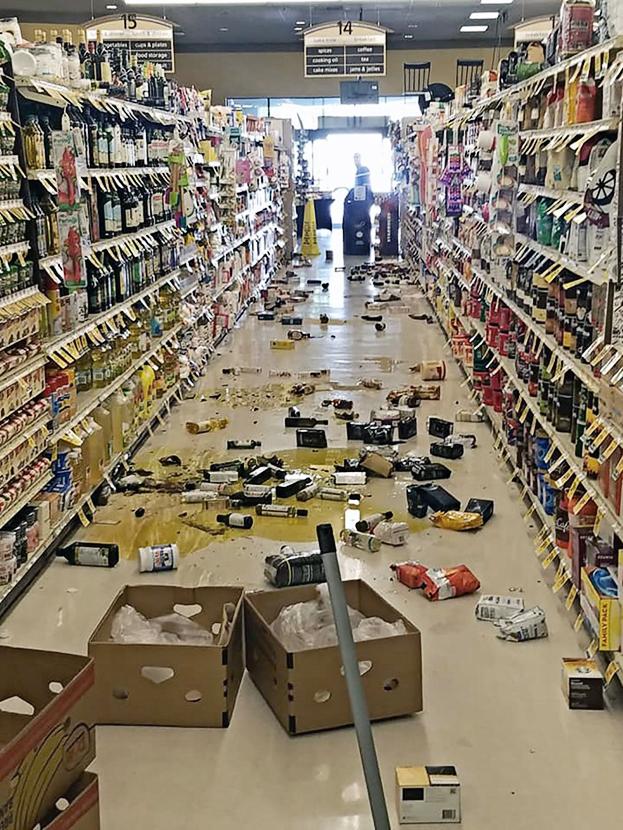 На юге Калифорнии произошло сильнейшее за 20 лет землетрясение
