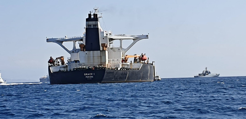 Гибралтар задержал супертанкер с иранской нефтью для Сирии