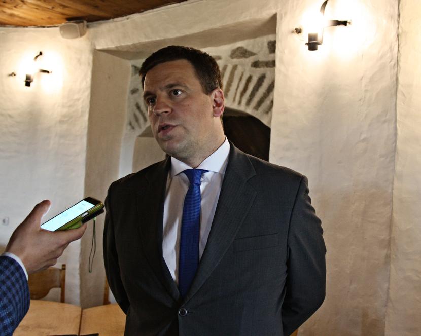 Юри Ратас в Нарве обсуждал возможности трудоустройства энергетиков