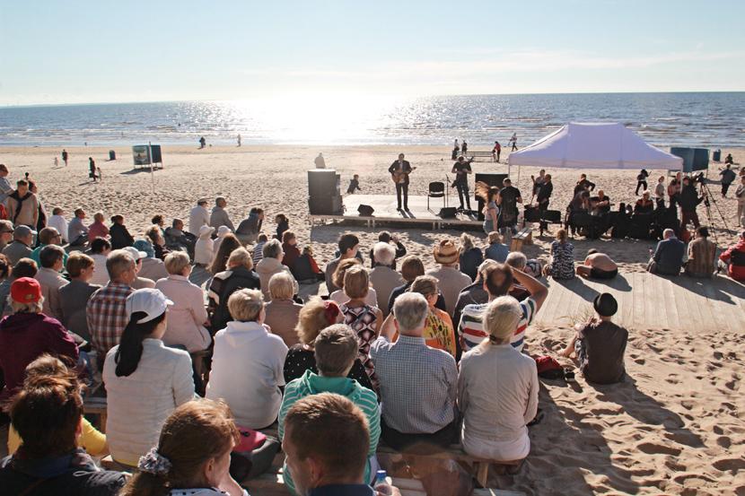 Четвёртый фестиваль авторской песни «Балтийские струны» пройдет в Нарва-Йыэсуу с 12 по 14 июля