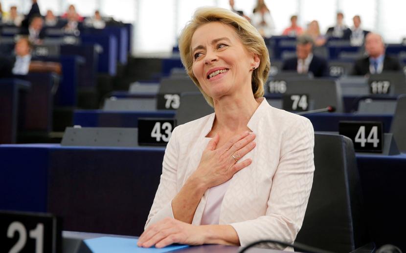 Урсулу фон дер Ляйен выбрали председателем Еврокомиссии