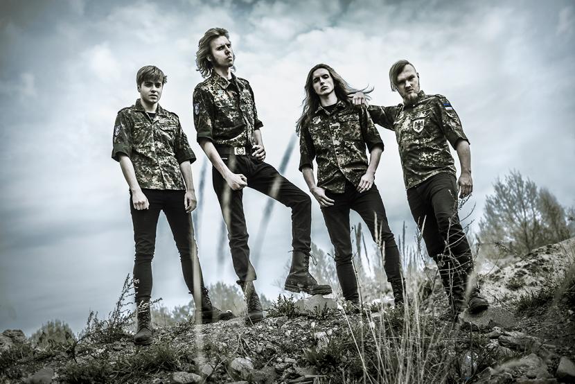Трэш-метал группа Tankist впервые посетит Нарву