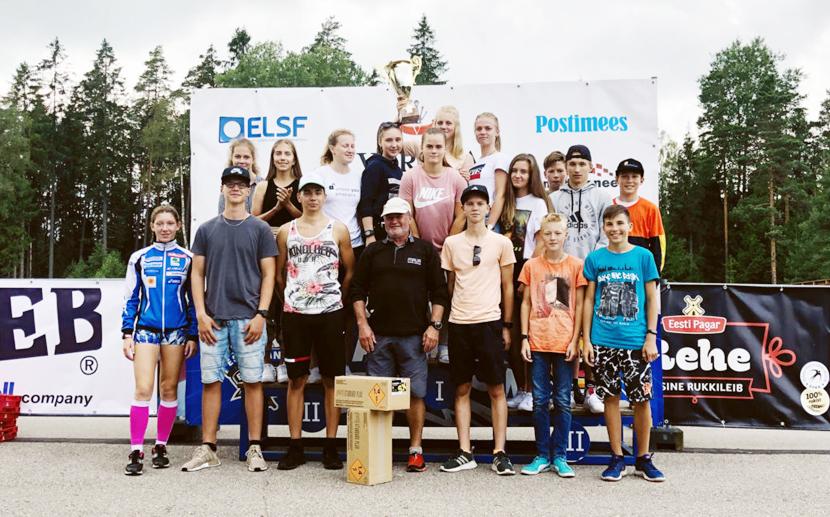 Нарвские биатлонисты взяли кубок Varska originaal