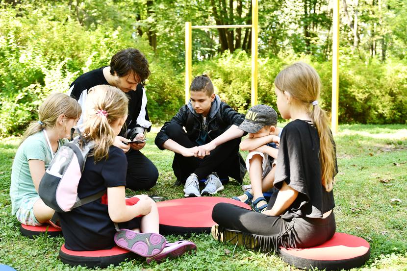 Дети из Силламяэ отдохнули в Нарва-Йыэсуу
