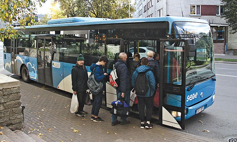 Проверка слуха: осень на расписание автобуса до Нарва-Йыэсуу не повлияет