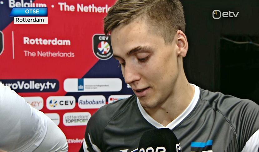 Сборная Эстонии проиграла на ЧЕ по волейболу третий матч подряд