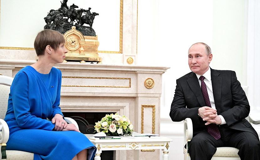 Кальюлайд: Эстония должна быть в числе стран, которые самостоятельно говорят с Россией