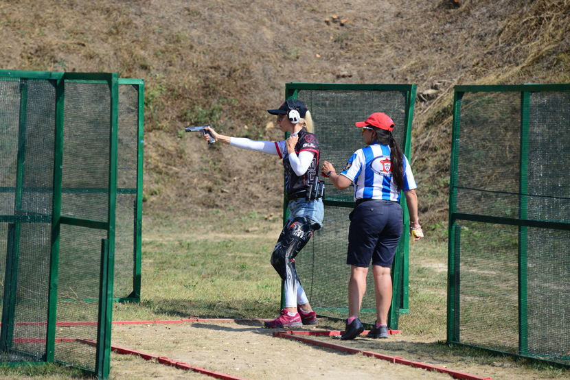 Третье место среди женщин на Чемпионате Европы по практической стрельбе досталось Эстонии