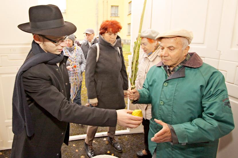 Еврейская община Ида-Вирумаа отметила праздник Суккот