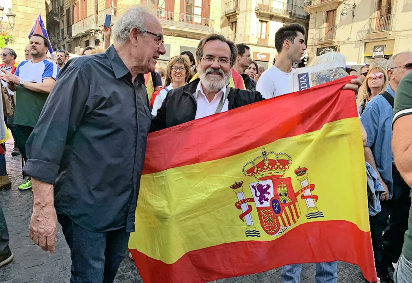 В Барселоне тысячи противников независимости Каталонии провели акцию