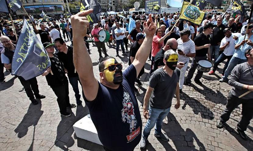 Британские водители Bolt в бешенстве и вышли на протесты против эстонской компании