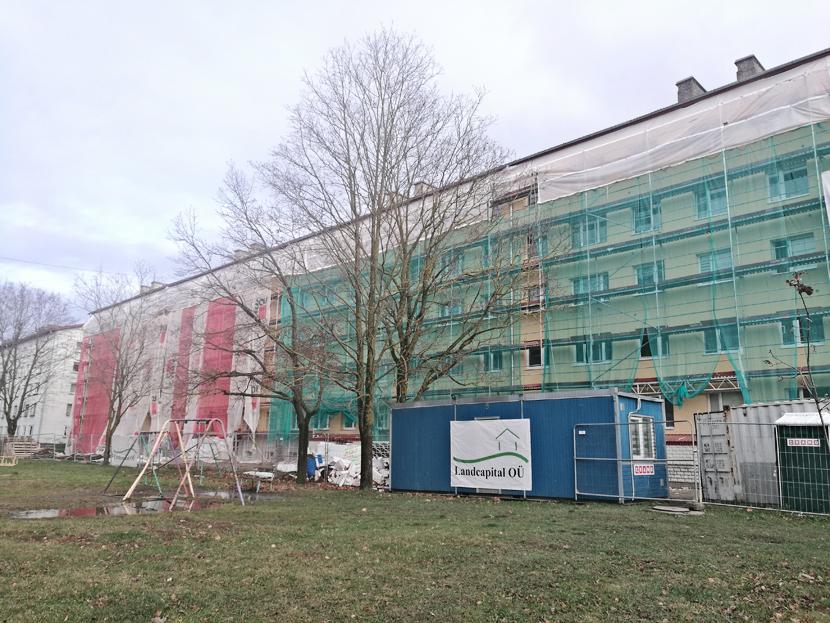 Около 70 нарвских КТ занялись реновацией фасадов