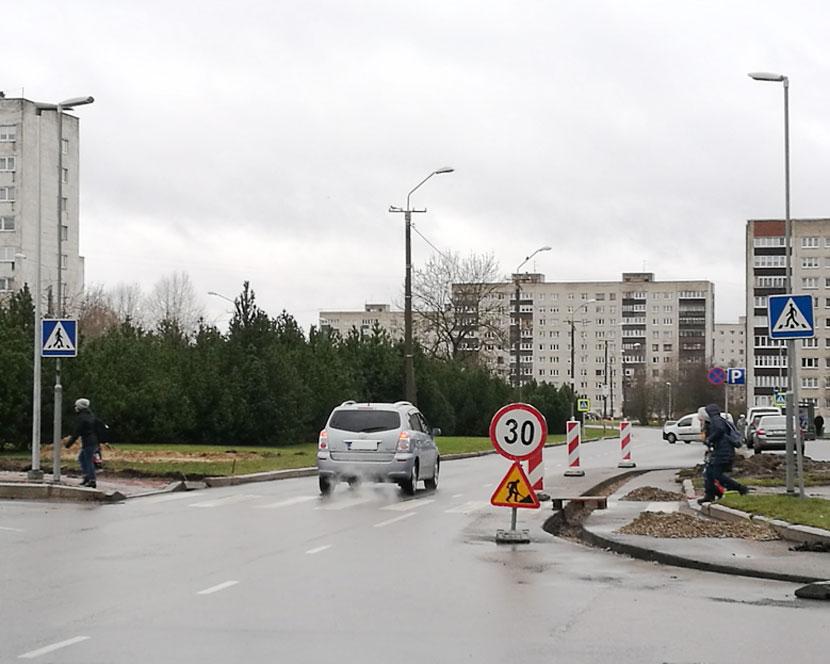 Проспект Кангеласте: две полосы в каждом направлении останутся
