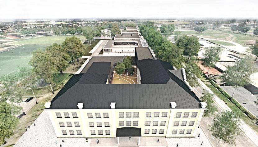 Новый учебный комплекс в Нарве построят по эскизу Tahvel