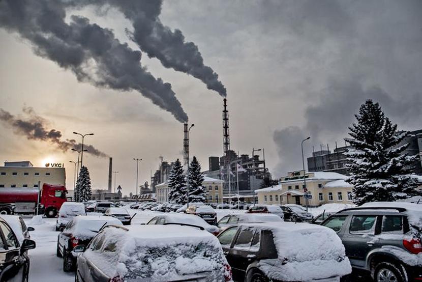 В Кохтла-Ярве во время работ по сносу на территории VKG погиб рабочий