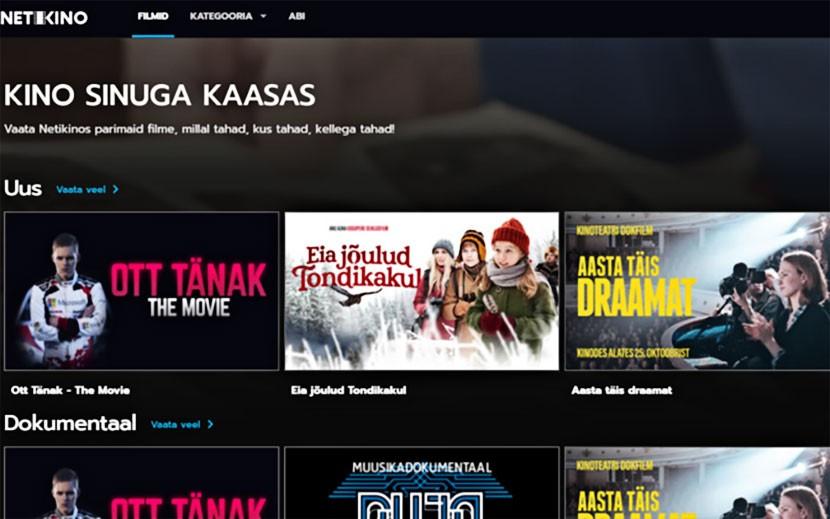 В интернете открылась платформа для просмотра эстонских фильмов