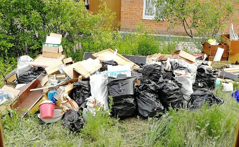 Вывозить мусор из квартиры на дачу - незаконно