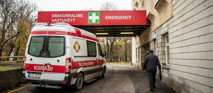 Подозревают в получении взяток. Полиция задержала члена правления и еще троих сотрудников Ида-Таллиннской центральной больницы