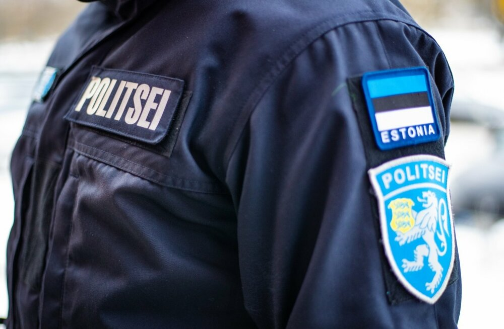 В Нарве дебошир напал на полицейкого при исполнении