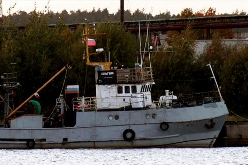 Спасена команда затонувшего у берегов Эстонии российского траулера
