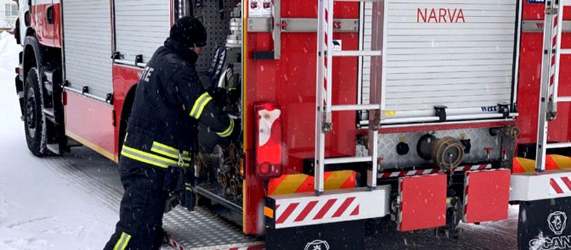 Проверят пожаробезопасность домов. На этой неделе Спасательный департамент проведет рейды в Ида-и Ляэне-Вирумаа
