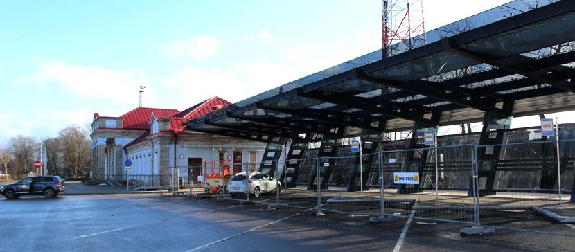 Обновленный нарвский вокзал обещают открыть в конце марта