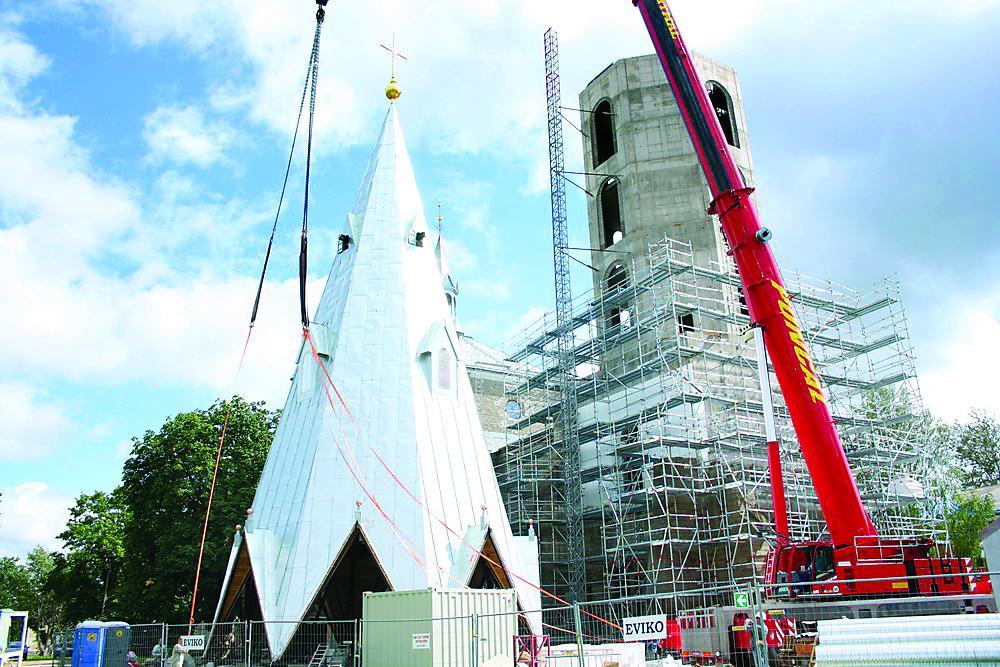 Александровская церковь после ремонта может дать толчок нарвскому туризму. Когда планируется завершить реконструкцию?