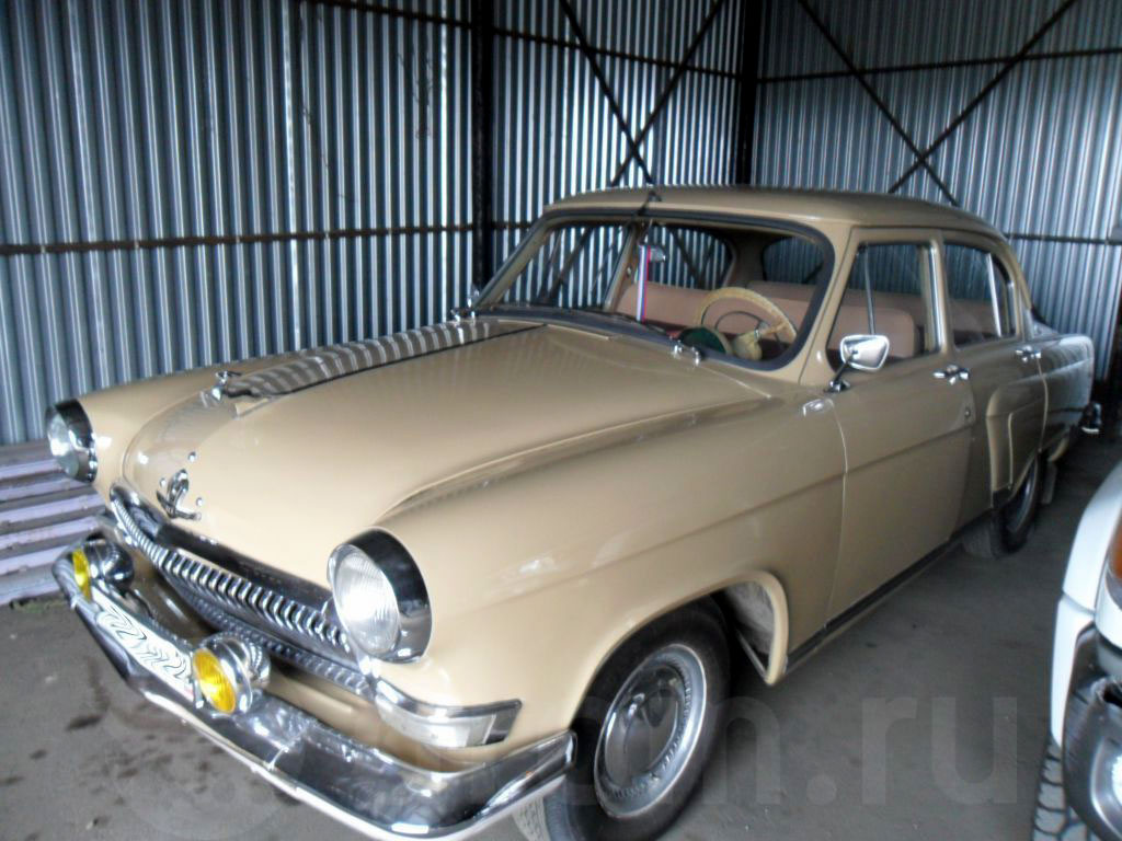 """В Вильянди угнали почти 60-летнюю """"Волгу"""". В хорошем состоянии такой автомобиль может стоить до 20 тысяч евро"""